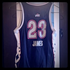 Lebron James east all stars womens jersey